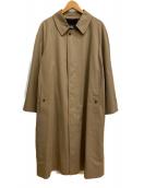 BURBERRY LONDON(バーバリーロンドン)の古着「[OLD]ステンカラーコート」|ベージュ