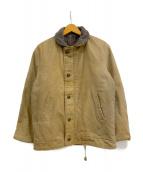 VINTAGE(ヴィンテージ/ビンテージ)の古着「[古着]N-1デッキジャケット」|ベージュ