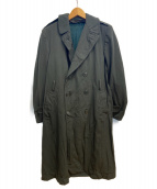 US ARMY(米軍)の古着「[古着]ウールギャバジンオーバーコート」 カーキ