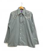 Wrangler(ラングラー)の古着「[古着]70s ヴィンテージシャツ」 グリーン