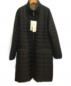 HIROKO KOSHINO(ヒロコ コシノ)の古着「中綿コート」|ブラック