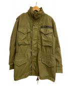 ALPHA(アルファ)の古着「[古着]80s M65ジャケット」|セージグリーン