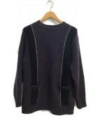 ()の古着「Skins knit」 グレー