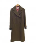 SONIA RYKIEL(ソニア リキエル)の古着「トレンチコート」|ブラウン