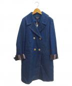 SONIA RYKIEL collection(ソニア リキエル コレクション)の古着「ダブルコート」|ネイビー