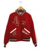 COACH(コーチ)の古着「Chelsea Varsityジャケット」|レッド