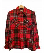 McGREGOR(マックレガー)の古着「[古着]40s ウールシャツ」 レッド