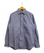 NIGEL CABOURN()の古着「BRITISH OFFICERS SHIRT」|ネイビー