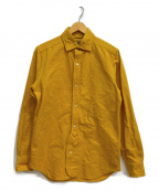 NIGEL CABOURN()の古着「BRITISH OFFICERS SHIRT」|イエロー