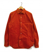 NIGEL CABOURN()の古着「BRITISH OFFICERS SHIRT」|レッド