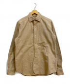 NIGEL CABOURN()の古着「BRITISH OFFICERS SHIRT」|ベージュ