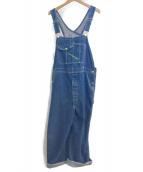 KEY(キー)の古着「80sオーバーオール」|インディゴ