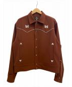 Needles(ニードルス)の古着「Papillon Piping Cowboy Shirts」|ブラウン