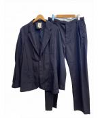 MANDO(マンドー)の古着「セットアップスーツ」|ネイビー