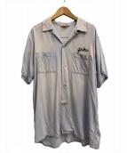()の古着「[古着]ボーリングシャツ」|グレー
