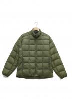mont-bell(モンベル)の古着「ダウンスナップジャケット」|モスグリーン
