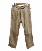 PHINGERIN(フィンガリン)の古着「ボンテージパンツ」|ベージュ