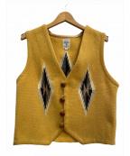 ORTEGAS(オルテガ)の古着「チマヨベスト」 イエロー