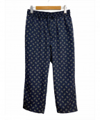 CLANE HOMME(クラネ オム)の古着「ジャージスラックスパンツ」|ネイビー