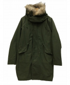 MONKEY TIME(モンキータイム)の古着「ライナー付モッズコート」|セージグリーン