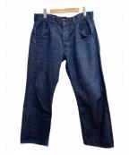 BRU NA BOINNE(ブルーナボイン)の古着「ピーターパンツ」|インディゴ