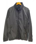 EDIFICE(エディフィス)の古着「スタンドフードブルゾン」|グレー