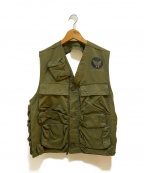 BRESLEE MFG(BRESLEE MFG)の古着「[古着]C-1 サバイバルベスト」|セージグリーン