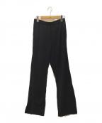 MM6 Maison Margiela(エムエムシックス メゾン マルジェラ)の古着「サイドライントラックパンツ」|ブラック