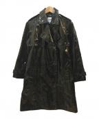 Jean Paul GAULTIER(ジャンポールゴルチエ)の古着「コーティングトレンチコート」|ブラック