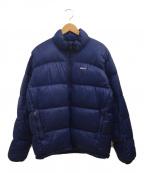 Patagonia(パタゴニア)の古着「フィッツロイダウンジャケット」|ブルー