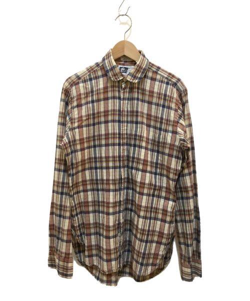 Engineered Garments(エンジニアドガーメンツ)Engineered Garments (エンジニアドガーメンツ) チェックシャツ ブラウン サイズ:XSの古着・服飾アイテム