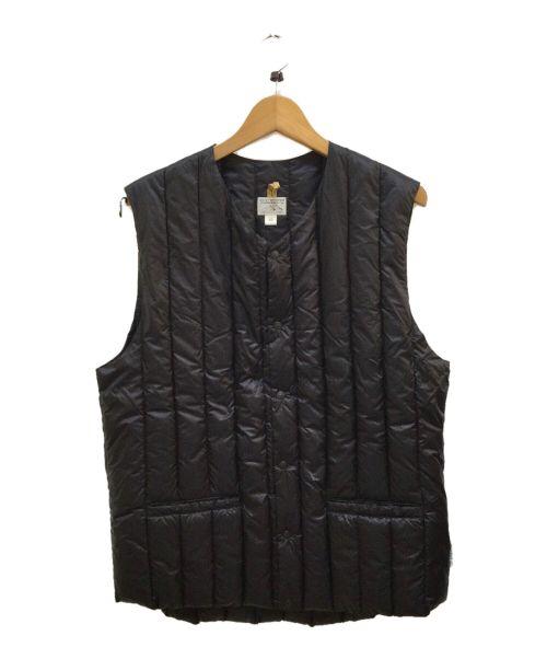 RockyMountainFeatherBed(ロッキーマウンテンフェザーベッド)RockyMountainFeatherBed (ロッキーマウンテンフェザーベッド) ダウンベスト ブラック サイズ:42の古着・服飾アイテム
