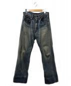 LEVIS VINTAGE CLOTHING(リーバイス ヴィンテージ クロージング)の古着「ダメージデニムパンツ」|インディゴ