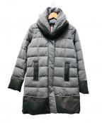 YOSOOU(ヨソオウ)の古着「ツーピースカラーコート」|グレー