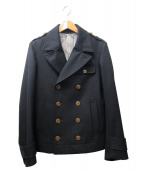 Vivienne Westwood man(ヴィヴィアンウエストウッドマン)の古着「メルトンPコート」|ブラック