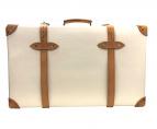 GLOBE-TROTTER(グローブトロッタ)の古着「スーツケース」 アイボリー