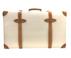 GLOBE-TROTTER(グローブトロッター)の古着「スーツケース」|アイボリー