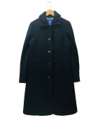 BURBERRY BLUE LABEL(バーバリーブルーレーベル)の古着「ロングコート」|ブラック