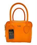 ()の古着「ボックスバッグ」 オレンジ