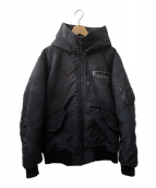 ()の古着「中綿ジャケット」|ネイビー