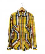 BIG MAC(ビッグマック)の古着「カバーオールシャツ」|イエロー