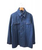 DALEES&CO(ダリーズ)の古着「ワークジャケット」|インディゴ