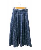 ()の古着「フレアスカート」 グレー