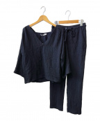 ZARA(ザラ)の古着「セットアップ」|ネイビー