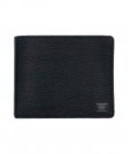 PORTER()の古着「2つ折り財布」|ブラック