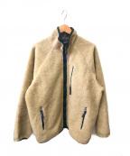 Patagonia()の古着「フリースジャケット」|ベージュ
