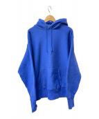 ()の古着「プルオーバーパーカー」|ブルー