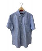 ()の古着「半袖シャツ」|ブルー