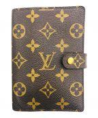 LOUIS VUITTON(ルイ ヴィトン)の古着「手帳カバー」|ブラウン