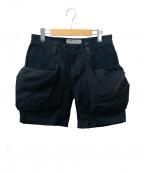 TROVE(トローブ)の古着「ビッグポケットショーツ」|ブラック
